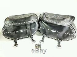 02 Harley Davidson Heritage Softail Flstc Bag Suitcases Luggage Bags A