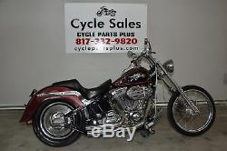 04 Harley-davidson Fxst Softail 88ci 5 Speed ​​transmission