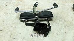 06 Harley Davidson Flst Heritage Softail Front Left Foot Rest Lever Edge Peg