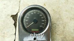 06 Harley Davidson Flst Legacy Softail Speed Meter Jauge & Cover Case