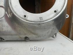 1 Crankcase Primary Originally In Alu For Harley Davidson Softail / Dyna