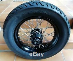 A Rear Wheel Rim Rays Ball Harley Davidson Softail Blackline & Slim