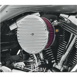 Air Filter Cup Arlen Ness Chrome Custom, Harley, Chopper, Softail