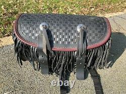 Back Bag Holder Bag Bag Or Sissy Bar Springer Softail Harley Davidson