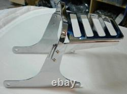 Baggage Holder With Supports Harley Davidson Softail Fatboy / Fx 00-05 Deluxe