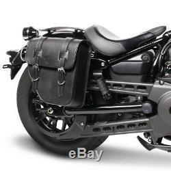 Bags Cavalières P. Harley Softail Slim Fls / Flsl / Texas Street Bob Black