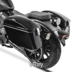 Bags Lateral DL + Mounting Kit For Softail Harley Street Bob