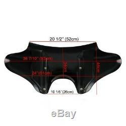Batwing Fairing Bk Harley Davidson Softail Low Rider / S