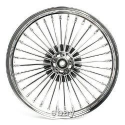 Big Spoke Rims Set 21x3.5-18x3.5 For Harley Softail Custom / Deluxe Cr