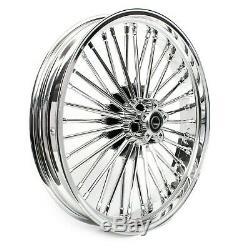 Big Wheel Spoke Before 2.5x21 Cvo Softail Breakout Harley / Deluxe Chrome