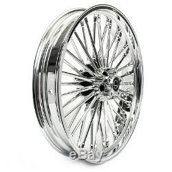 Big Wheel Spoke Before 2.5x21 For Harley Softail Fat Bob / 114 Chrome