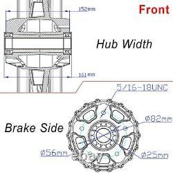 Big Wheels Spoke Set 21x2,5-18x5,5 Softail Harley Street Bob Black