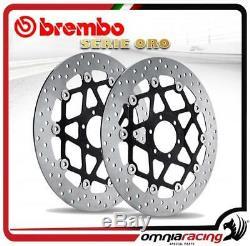 Brembo Serie Oro Front Brake Disc Harley 1340 Springer Softail 1989 8999