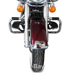 Bumper For Harley Davidson Heritage Softail Classic 00-17 Chrome Mustache