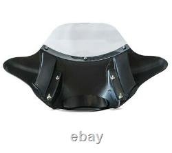 Carenage Batwing Bw9 For Harley Davidson Heritage Softail Classic / 114