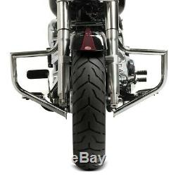 Casing Protection For Harley Davidson Softail 00-17 Craftride St1 Chromium