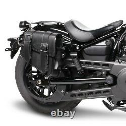 Cavalier Bags P. Harley Softail Slim Fls/ Flsl/ Street Bob Montana Black
