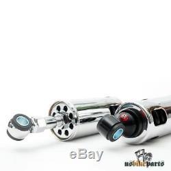 Chrome Shock Absorbers For Harley-davidson Evo Softail 1990-1999