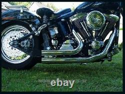 Collection Escaper For Harley Davidson Softail Model Court Shooter 1986-2006