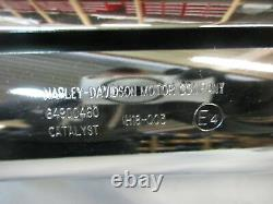 D180. Harley Davidson Softail Fxbb Exhaust Muffler 64900460