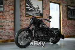 Daymaker Led For Harley Davidson Fat Boy Softail Heritage Deluxe Black