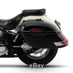Delaware 33l Hard Saddlebags For Harley Davidson Softail Breakout / Deluxe
