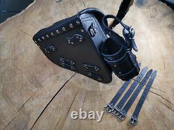 Diablo Skull Saddle For Softail Models Harley Davidson Streetbob Ab 2018