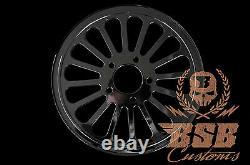 Dna Grease Spoke Poulie 66 Z. 1 Harley Davidson Softail Deluxe Heritage (black)