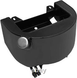 Drag Specialties Black Oil Tank Harley Davidson Softail