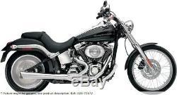 Exhaust System 2-1 Supermeg Chromium Harley Davidson Softail