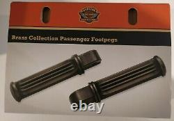 Footrest Passenger Brass Harley-davidson 50500781