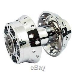 Front Wheel Hub Chrome Spokes, For Harley-davidson Softail, Fxdwg 00-07