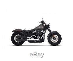 Harley Davidson Flh / Fld Softail 2018 Rinehart Exhaust Muffler Racin