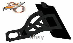 Harley Davidson Softail Deluxe Plate Laterally + Lighting