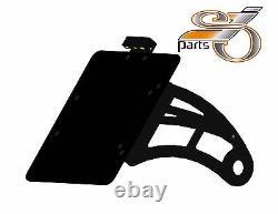 Harley Davidson Softail Dyna Plate Laterally + Lighting