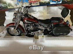 Harley Davidson Softail Heritage 2007 Franklin Mint 1/10 B11e348