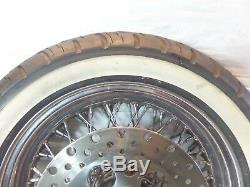 Harley Davidson Softail Heritage Classic Evo Chrome Laced Wheel Front Wheel