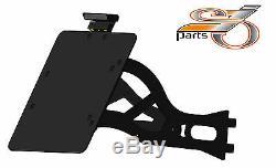 Harley Davidson Softail Standard Support Plate On Side Registration +