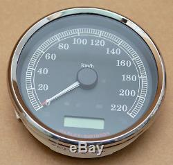 Harley Original Bus Can Speedometer Km / H Heritage Softail Dyna Touring