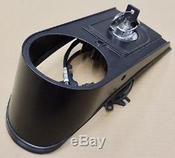 Harley Original Tank Console Black Dashboard Dash Black Softail