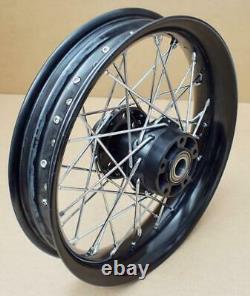 Harley Original Wheel Front 16x3 Black Softail