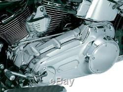 Hd Inner Primary Cover St 07-12 Chrome Harley Davidson Softail Ku