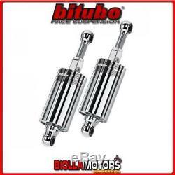Hd013hmg12 2x Rear Shock Absorber Bitubo Harley Softail 1989