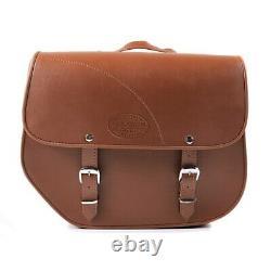 Horsebag For Harley Davidson Softail Slim Kentucky 30l Brown Pair