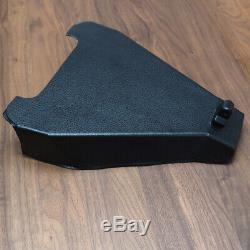 Imitation Leather Solo Seat Assembly Plate Kit For Harley-davidson Softail 2000