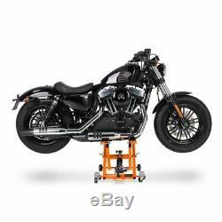 Jack Moto Á XL Scissors For Harley Davidson Softail Low Rider Orange Arise