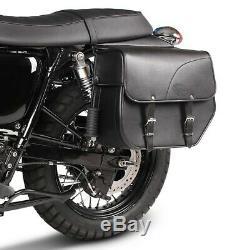 Kentucky Cavalier Saddlebag For Harley Davidson Softail Springer Fxsts / I 88-04