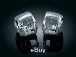 Kit Switches From Caches Kuryakyn Softail & Dyna From 1996 To 2011 Chrome