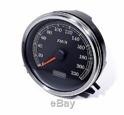 Km / H Tachometer For Harley-davidson Softail Motorcycles Evo Cam