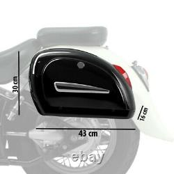 Lateral Bags For Harley Davidson Softail Street Bob Mg